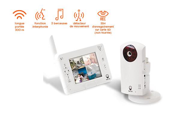 kit vidéo surveillance pour bébé
