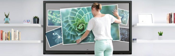 grand ecran tactile interactif